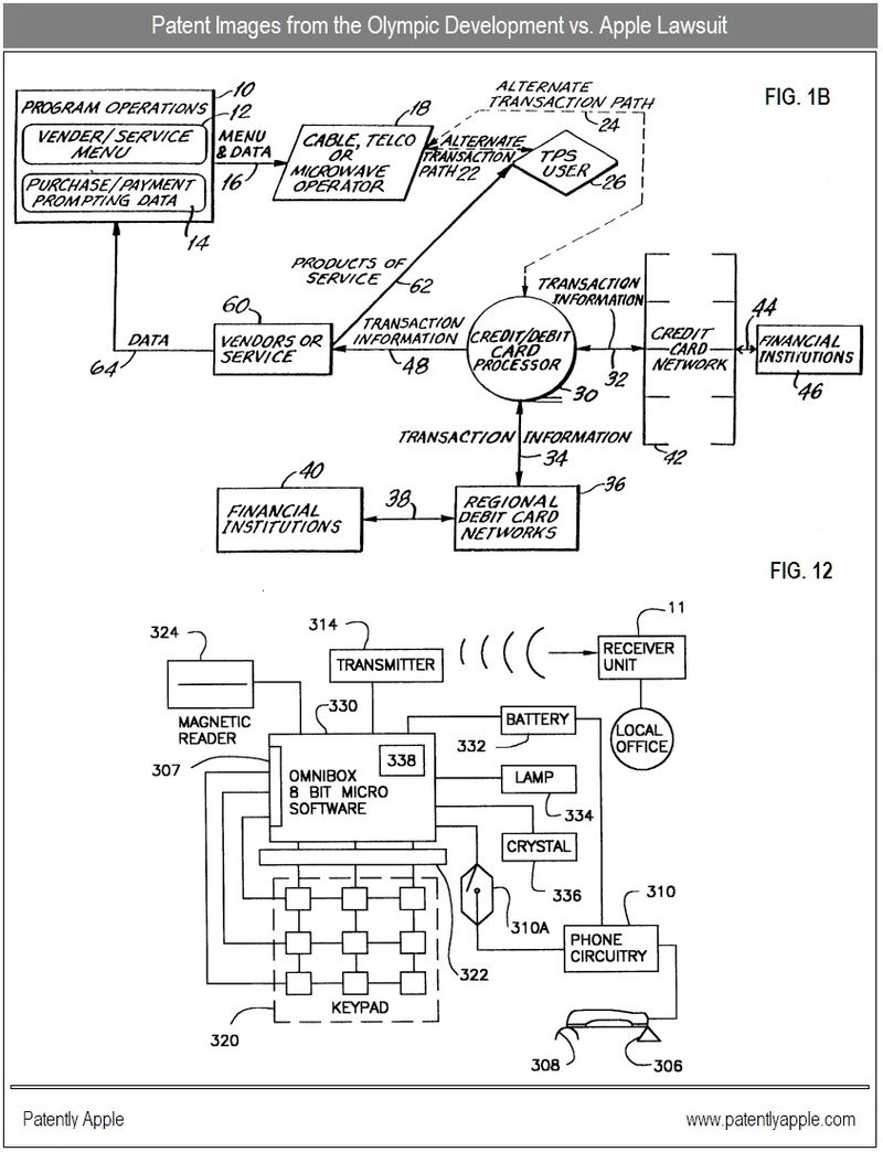 2 - patent images in olympic development vs. apple lawsuit 2010