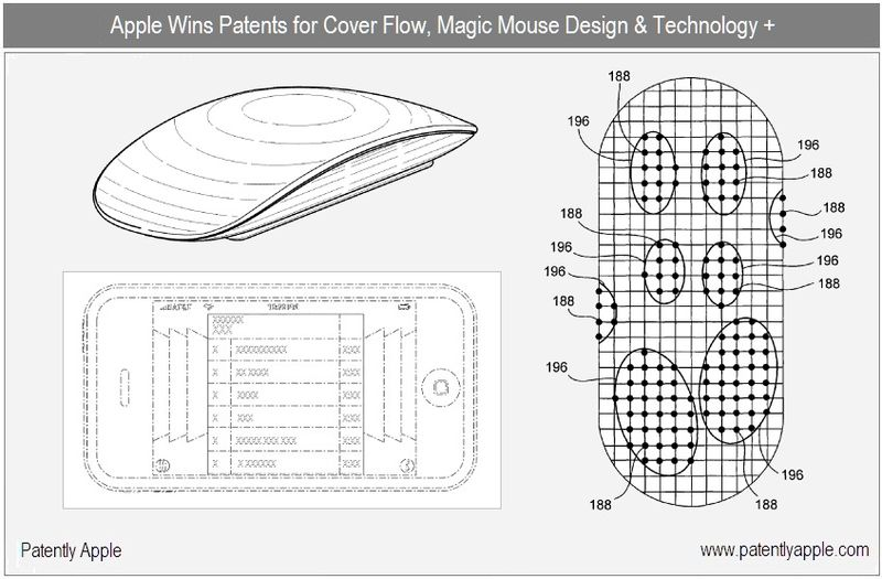 1 - Cover, granted patents oct 5, 2010 - magic mouse design & technology, Cover Flow & more