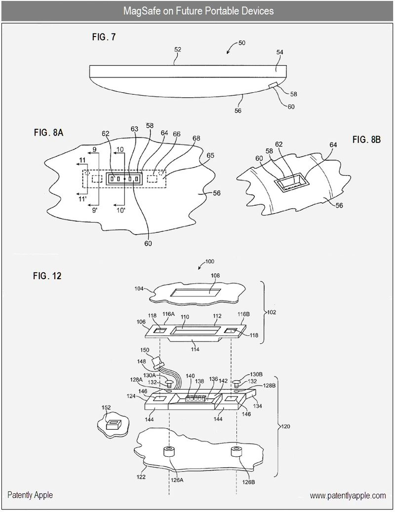 2A - magsafe on future portables - apple patent