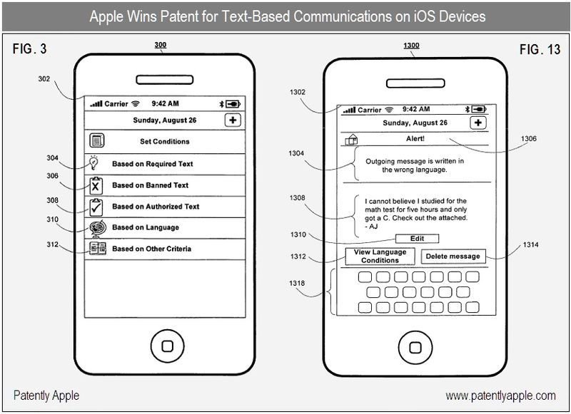 2 - apple, text-based communications for iOS devices - patent win