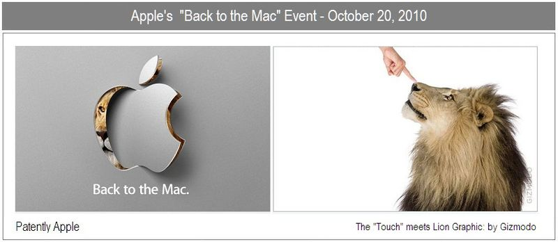 6 - Back to the Mac event oct 20, 2010