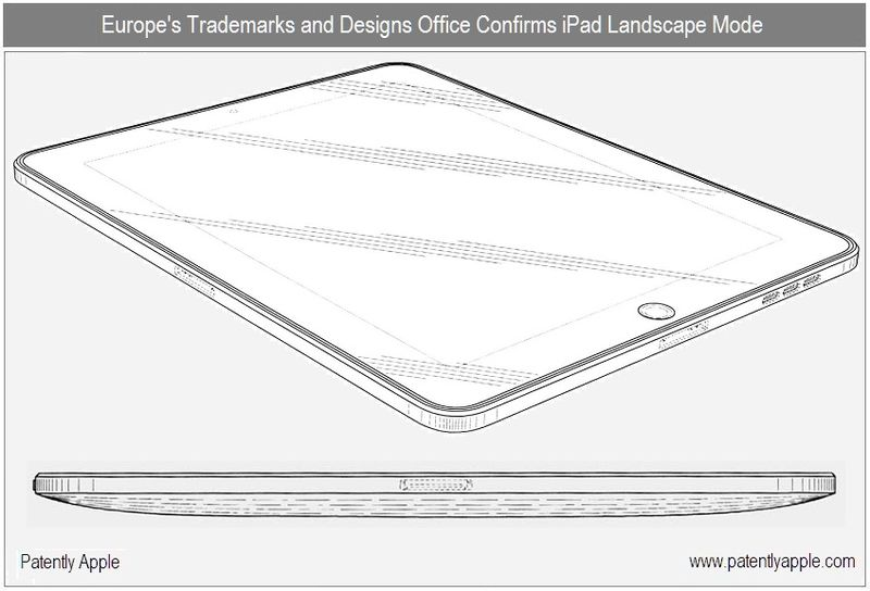 2 - EU trademark & Design office shows and confirms Apple's design for a landscape option 30 pin connector