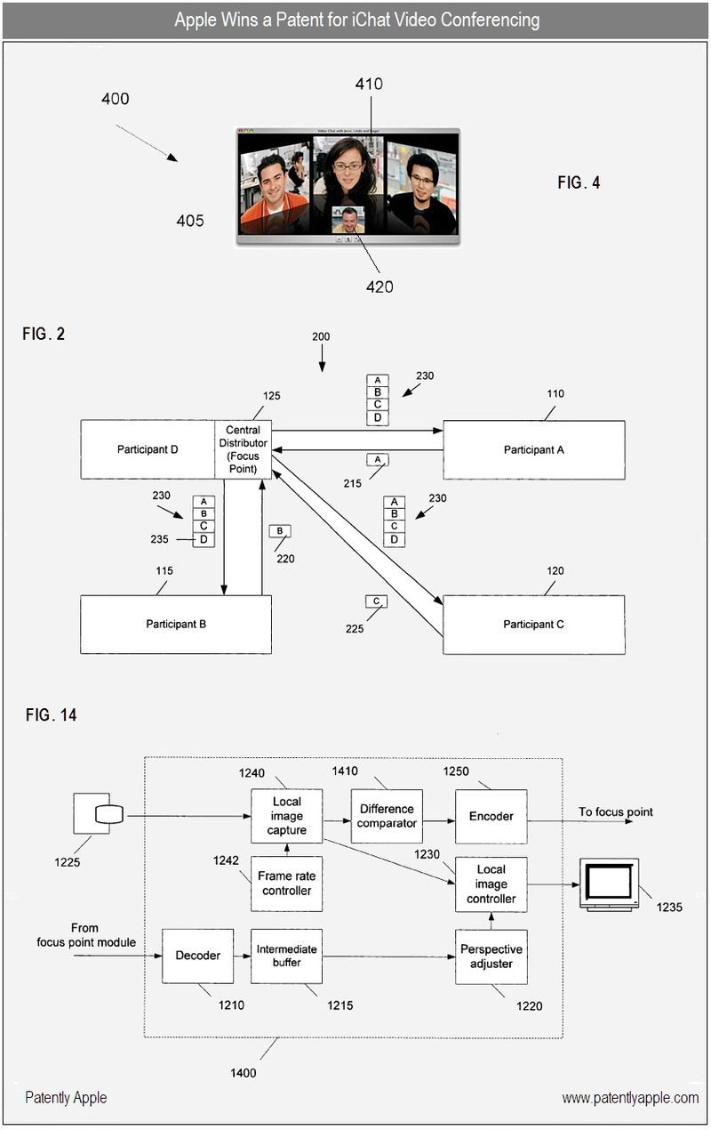 4 - Apple wins ichat patent