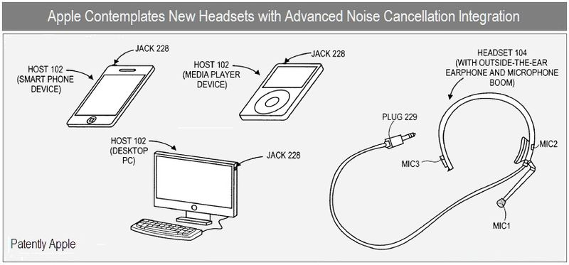 1 - Cover - apple patent - advanced noise cancellation headsets