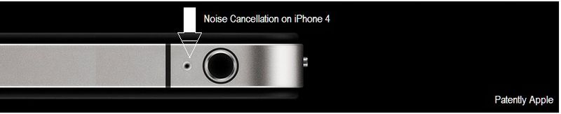 2 -  Current iPhone 4 noise cancellation solution