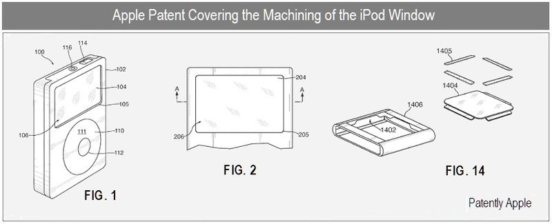 5 - apple patent - machining the ipod window