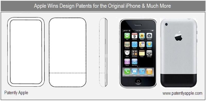 1 - cover - apple granted patents for original iphone design & More - nov 2010