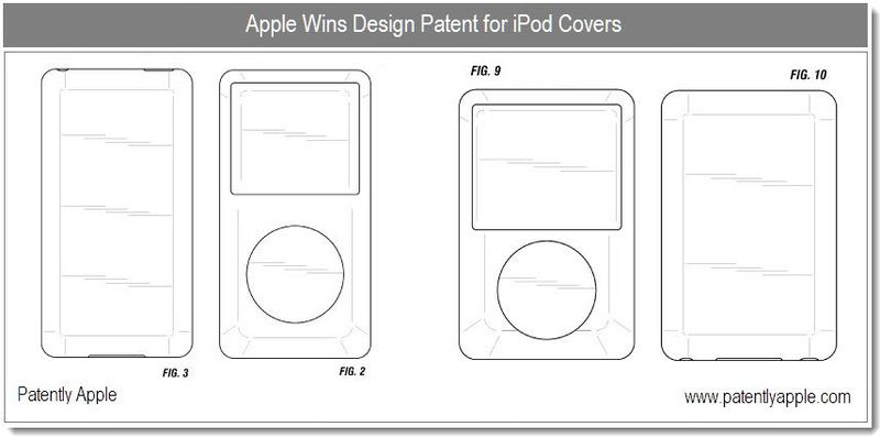 4 - Apple granted patent for iPod covers - dec 2010