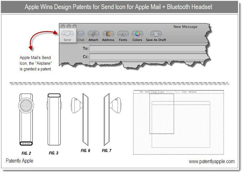 2 - Design Wins - Mail - Send icon + Bluetooth Headset, Translucent window - Dec 21, 2010