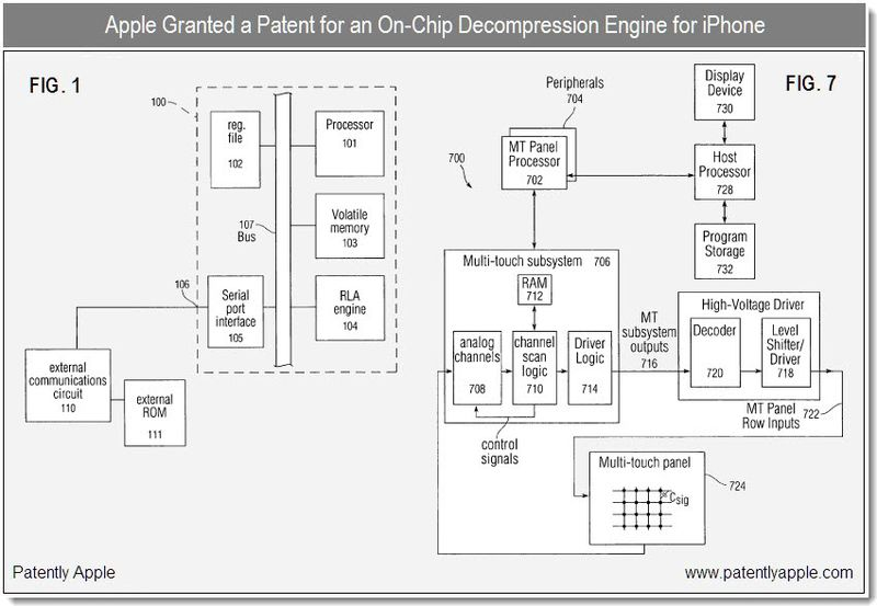 5 - Apple granted patent for on-chip decompression engine