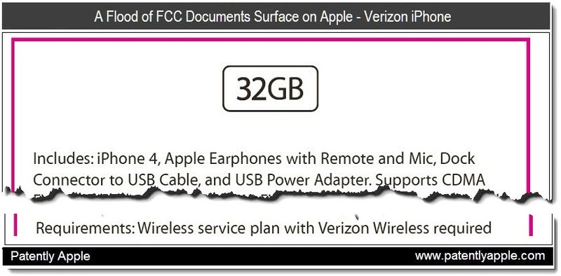 1 CO - Cover - A flood of FCC doc surface on Apple - Verizon iPhone - Jan 2011