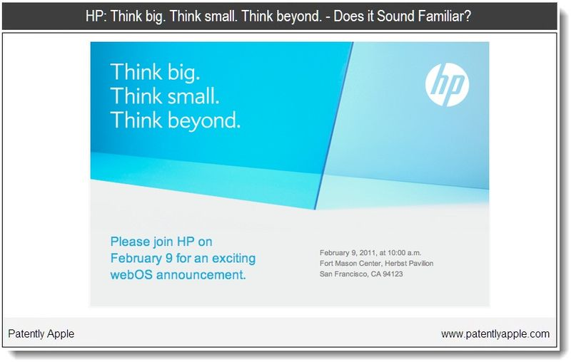 2 - HP Think Campaign. Sound familiar