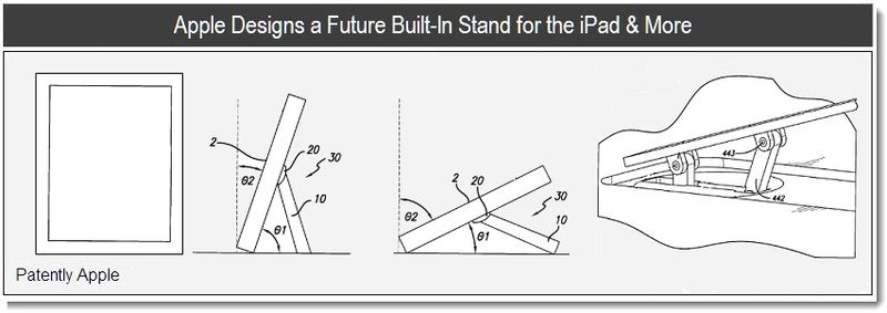 1 - Cover Graphic - Apple designs built in stand for the iPad +, Feb 2011