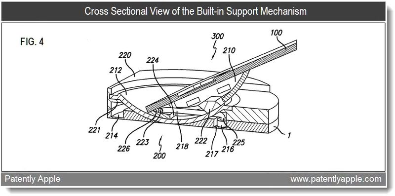 3 - Apple patent - device stand support mechanism - feb 2011
