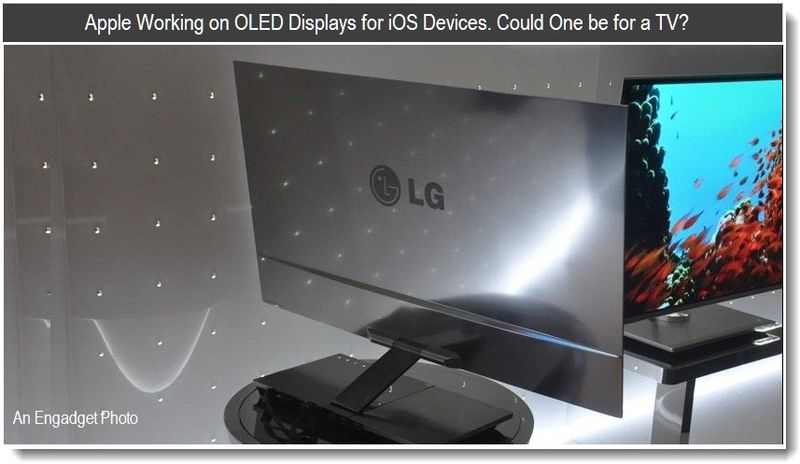 2 - Apple working on OLED Displays - could one be for a TV - patent report extra - feb 2011