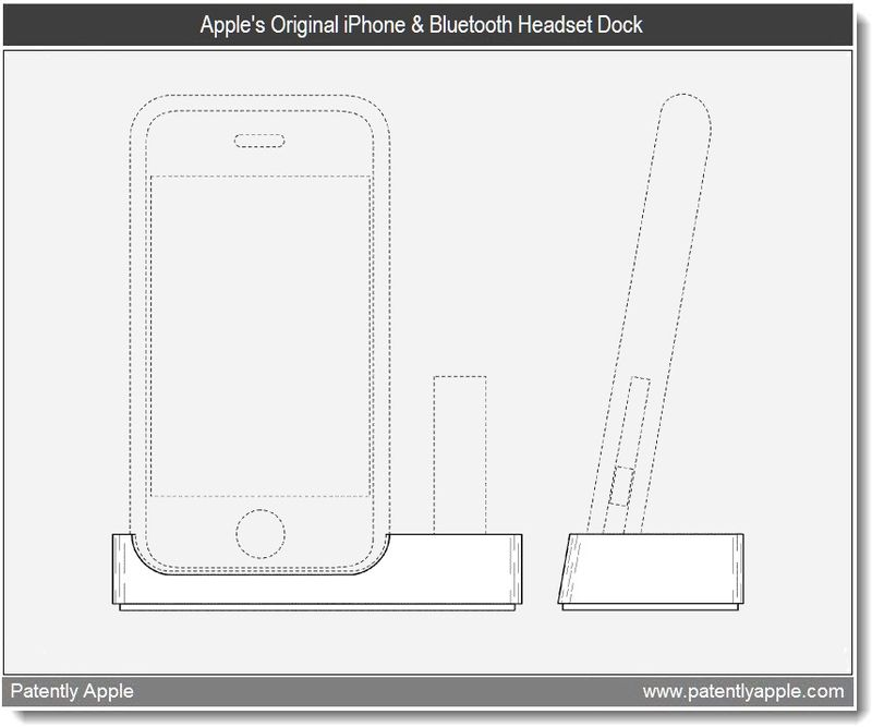 3 - Apple granted patent for original iPhone & Bluetooth Headset Dock - mar 2011