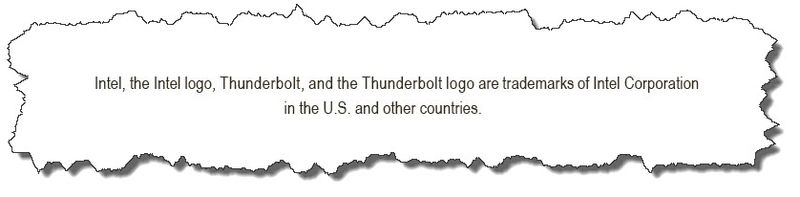 Intel statement on Intel website re Thunderbolt
