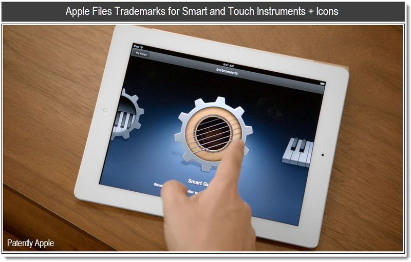 Apple Files Trademarks for Smart and Touch Instruments + Icons - March 16, 2011