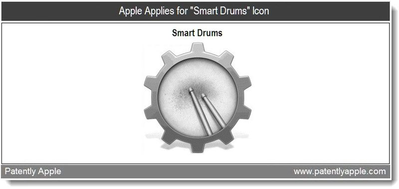 Xtra Graphic - Apple applies for Smart Drums Icon - Mar 17, 2011