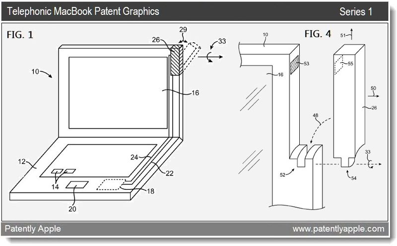 2 - Telephonic MacBook patent graphics - series 1 - mar 22, 2011