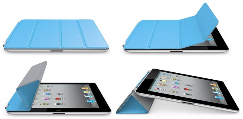 3 - iPad smart cover folding up