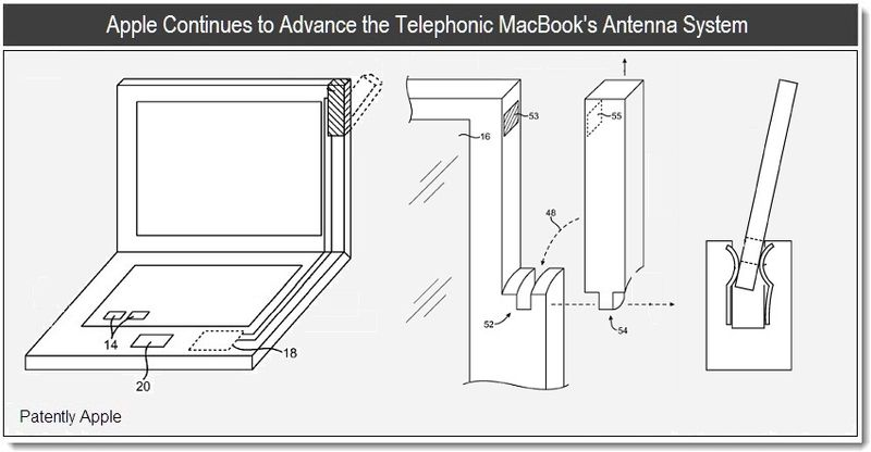 Mar 22, 2011 - Apple Continues to Advance the Telephonic MacBook's Antenna System