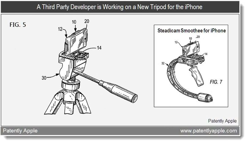 4 - Tiffen patent for a tripod for iPhone - mar 2011