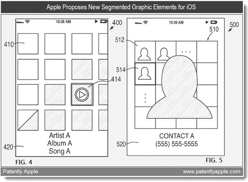 3b - Apple proposes new segmented graphic components for iOS - patent mar 2011
