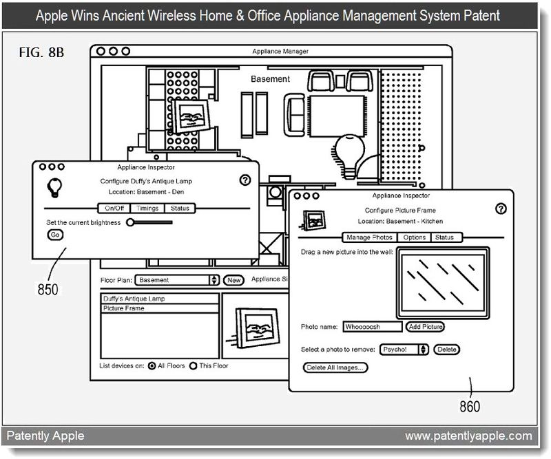 2 - Apple wins ancient wireless home & office appliance automation system patent - march 2011