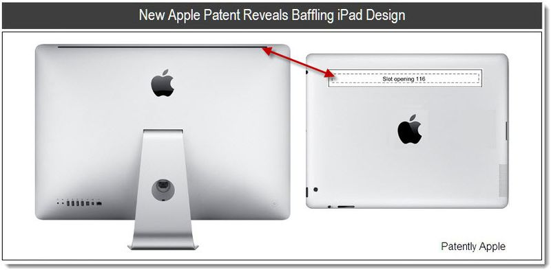 1- New Apple Patent Reveals Baffling iPad Design - 2011 C VERSION