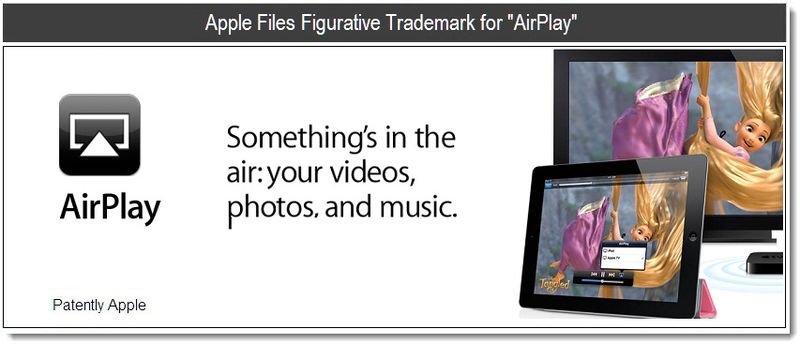 1 - Cover - Apple Files Figurative Trademark for AirPlay - April 2011