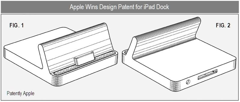 2 - Apple wins iPad Dock design patent - dec 2010