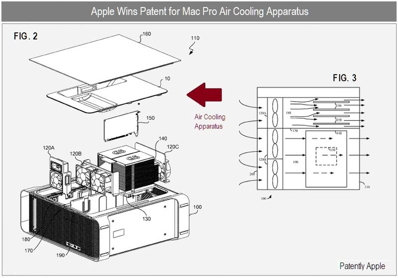 6c - Apple wins patent for Air Cooling Apparatus - dec 2010