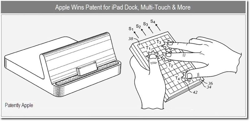 1 - Cover - Apple wins patents for iPad dock, multi-touch & more - dec 2010