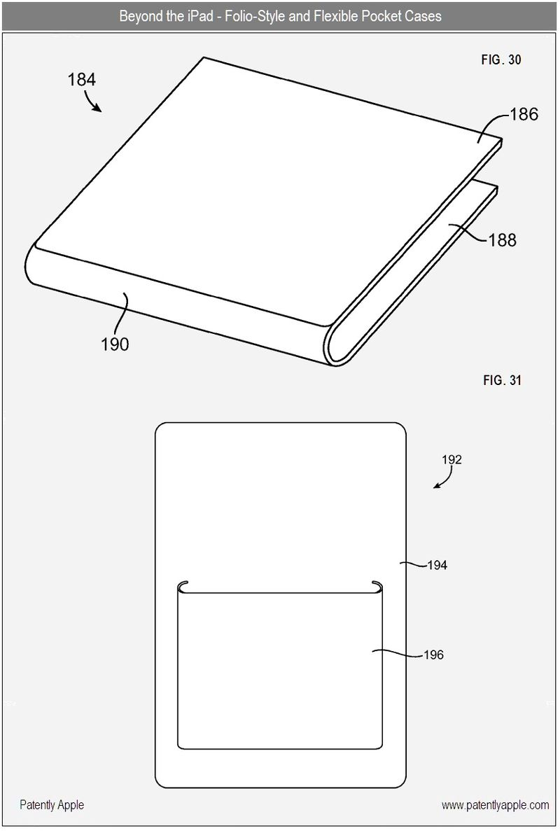5 - apple patent - folio-style and flexible pocket cases