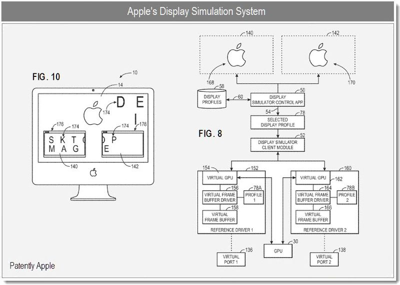 2 - Apple Patent - Display Simulation System
