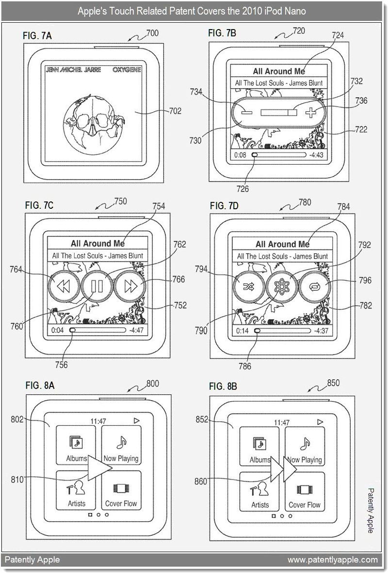 2 - ipod nano touch related patent revealed - dec 2010