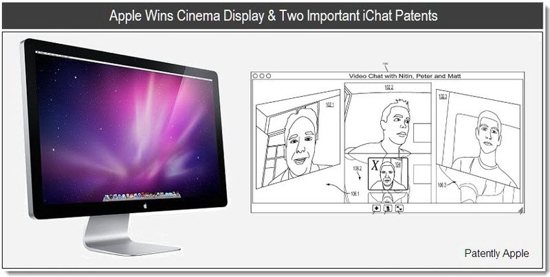 1 - cover - apple patents for ichat and cinema display design - jan 2011
