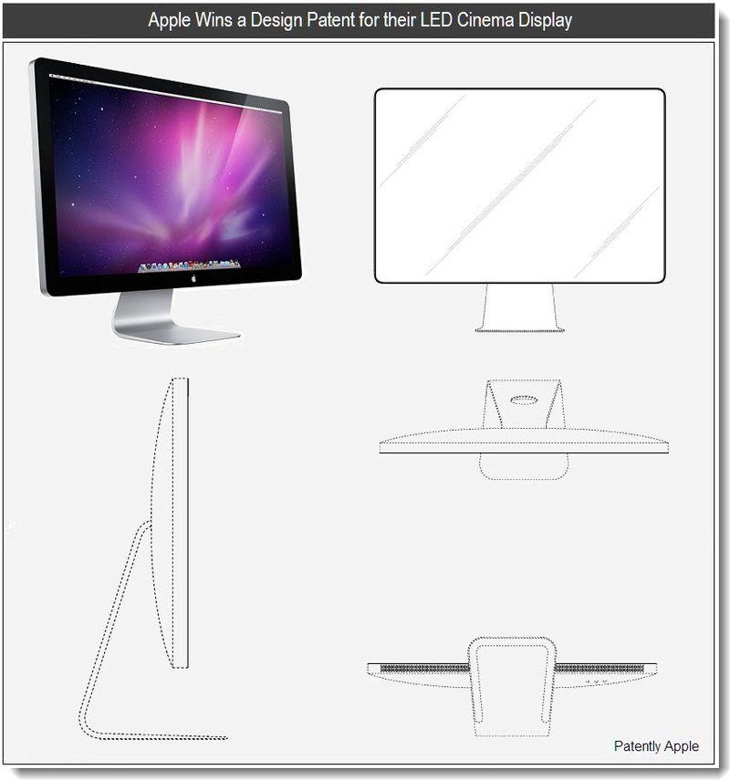 2 - Apple Granted patent for cinema display - jan 2011