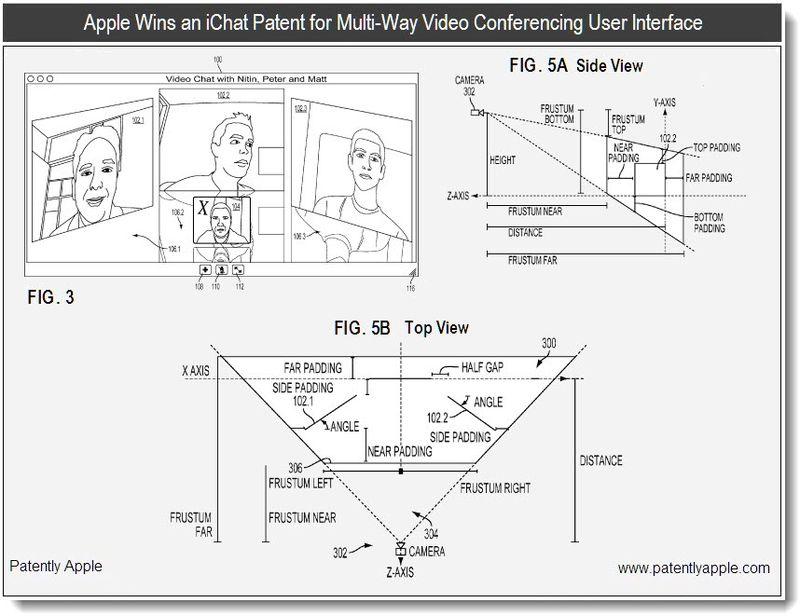 4 - apple patent - ichat - multiway UI - jan 2011