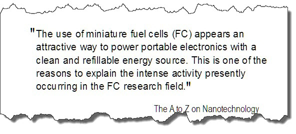 X - Quote re miniature Fuel Cells
