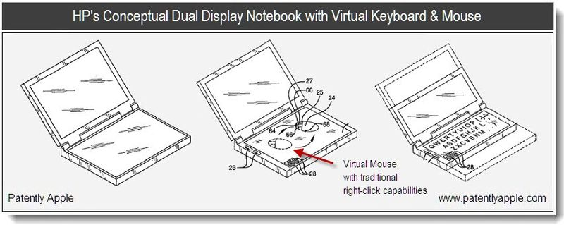 5b - hp conceptual dual display notebook - patent