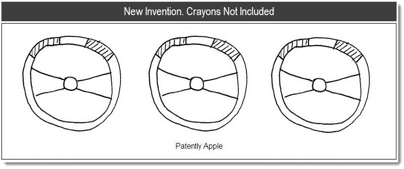 1b - Cover - New Invention. Crayons Not Included - Jan 2011. Apple Patent report