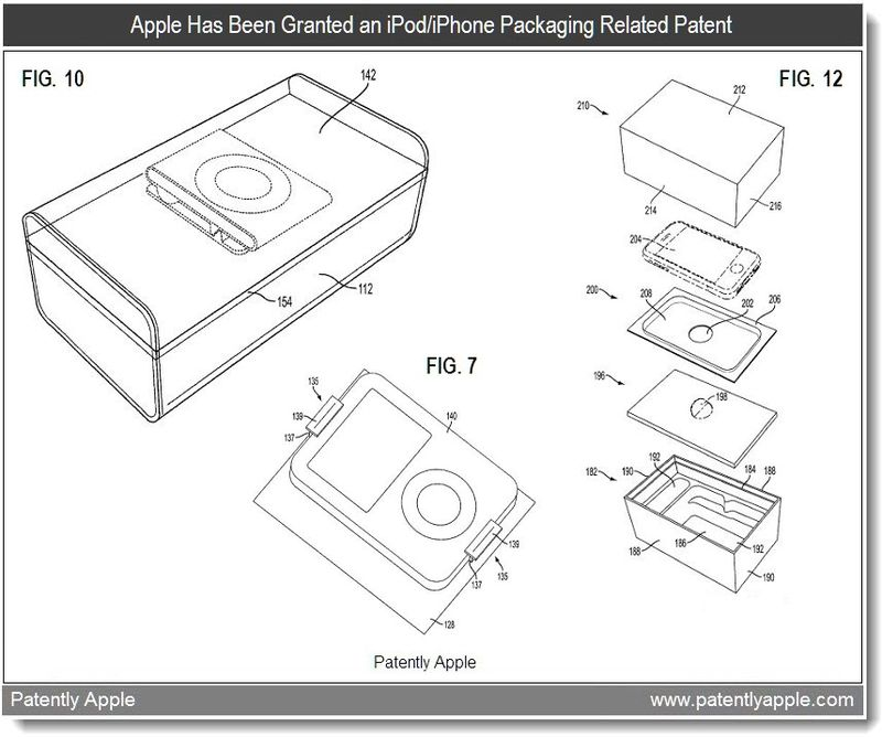 4 - Apple Granted Retail Packaging Patent - Feb 2011