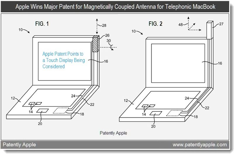 2b - Apple wins magnetically coupled antenna for telephonic MacBook - feb 2011