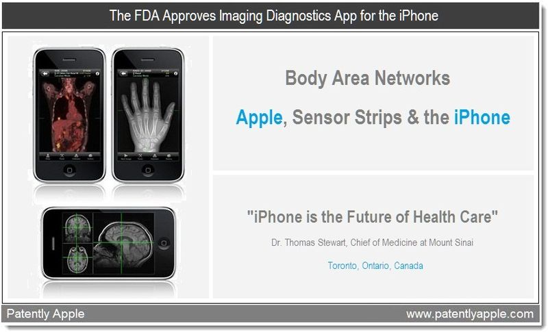 1 - cover - The FDA approves imaging diagnostics app for the iPhone - feb 5, 2011