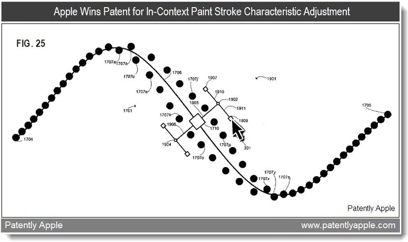 3 - Apple Patent - Paint stroke related, possible new app, Feb 2011