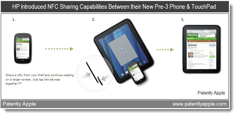 2 - HP NFC data sharing between phone and tablet - from feb 9, 2011 data