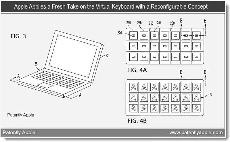 2 - Apple patent - a different approach to the virtual keyboard - feb 2011