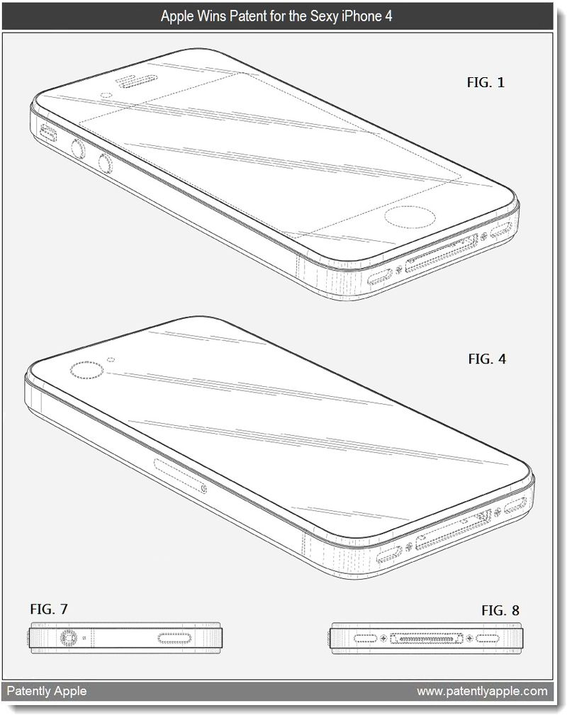 2 - iPhone 4 - Apple granted patent March 2011